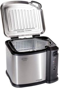 Masterbuilt Butterball 1650W XL Electric 20 lb Turkey Fryer 1