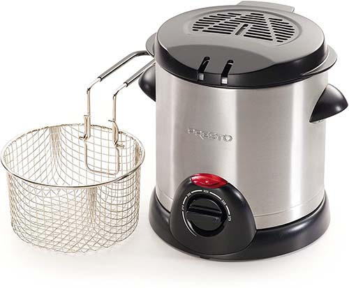 Presto 05470 Stainless Steel Electric Deep Fryer