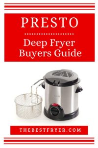 Pinterest - Presto Deep Fryer
